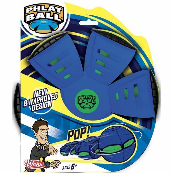 Phlat Ball: V5 frizbi labda - kék