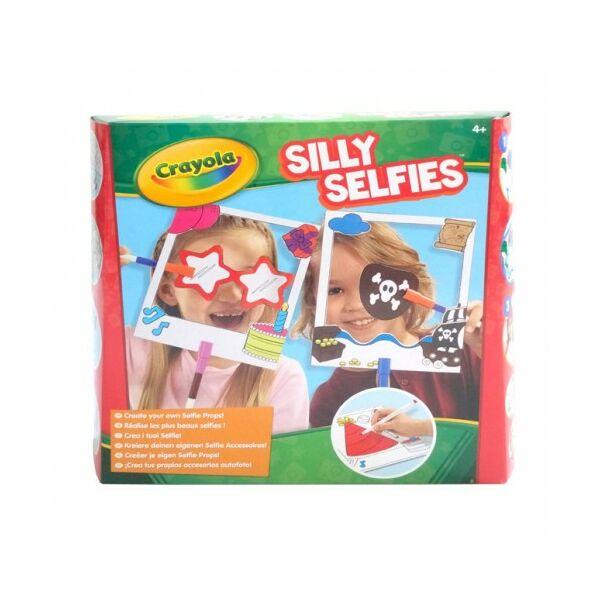Crayola Bolondos Selfie kellékek készlet
