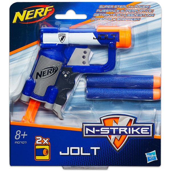 NERF N-Strike: Jolt szivacslövő pisztoly tölténnyel