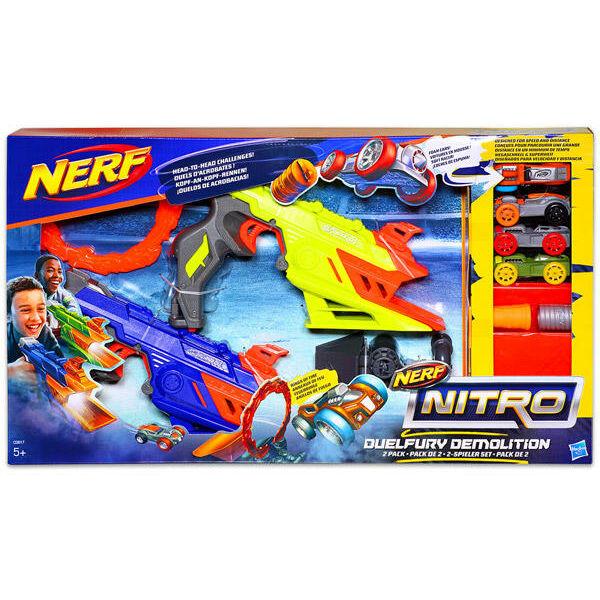 Hasbro Nerf Nitro - Duelfury Demolition autókilövő, két személyes