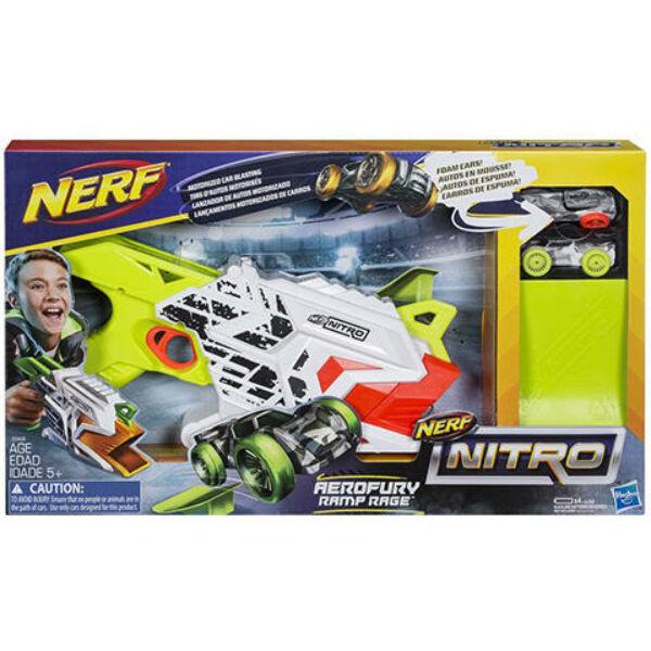 Nerf Nitro Aerofury Ramp Rage Motorizált Autókilövő