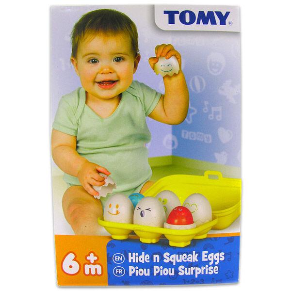 Tomy: bújócskázó tojások bébijáték
