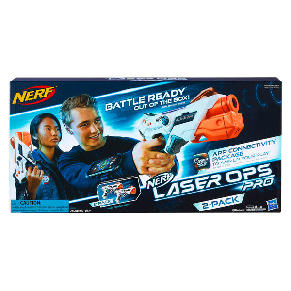 NERF: Laser Ops Alphapoint 2 darabos lézerfegyver
