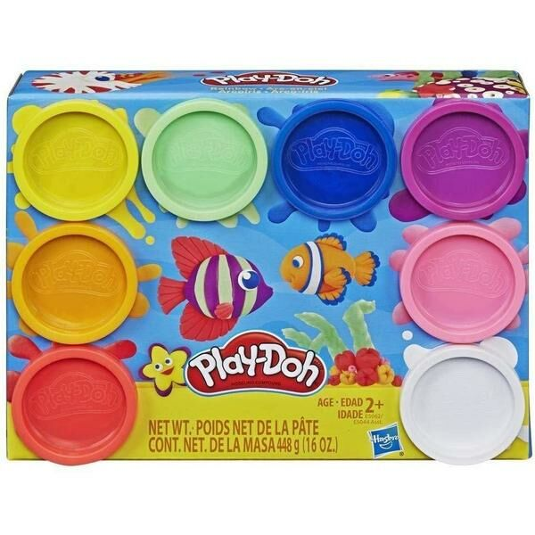 Play-Doh: 8 darabos színvarázs gyurmakészlet