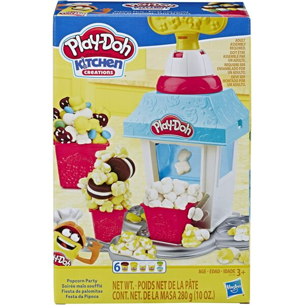 Play-Doh: pattogatott kukorica készítő gyurmaszett