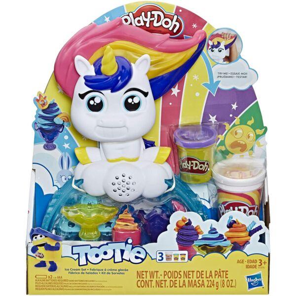 Play-Doh: Unikornisos fagylaltkészítő gyurmaszett