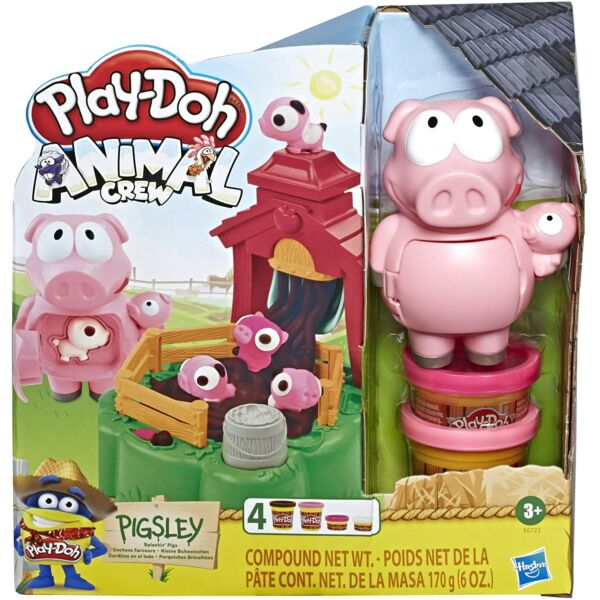 Play-Doh: Animal Crew Pigsley gyurmaszett