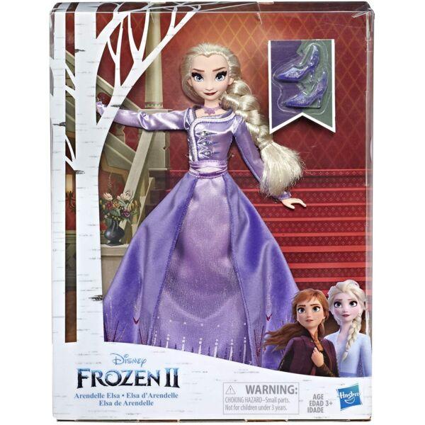 Disney Hercegnők: Jégvarázs 2 - Deluxe Elza hercegnő, lila ruhában