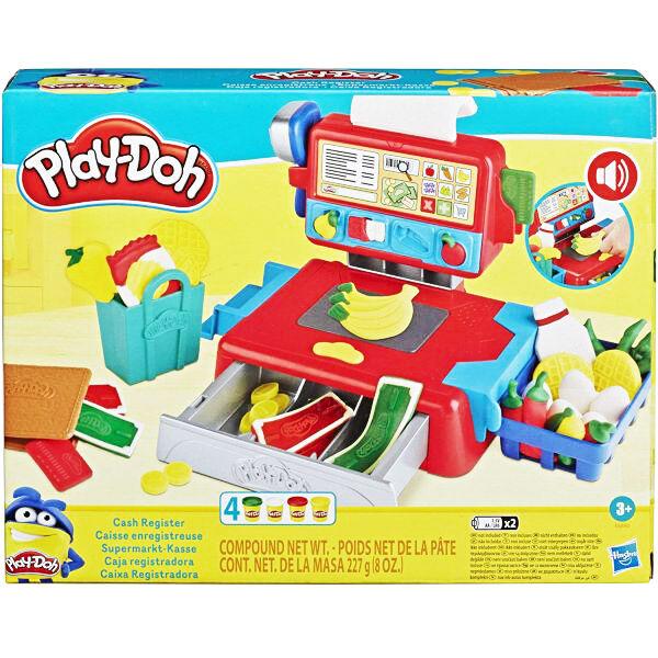 Play-Doh: Pénztárgép szett gyurmával