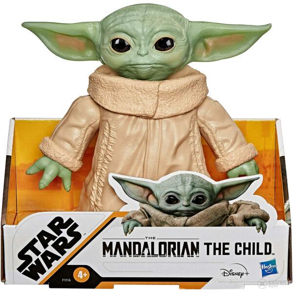 Star Wars: Baby Yoda műanyag figura - 15 cm