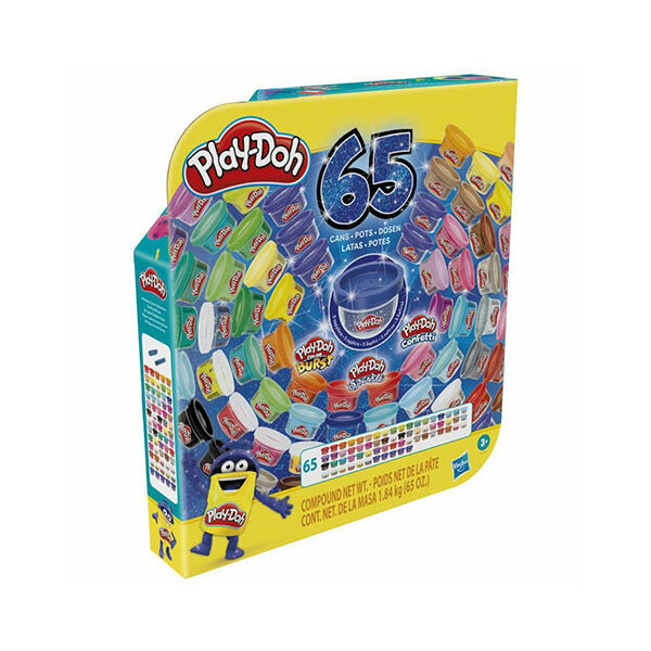Play-Doh: Ultimate Colors gyurma szett 65db-os