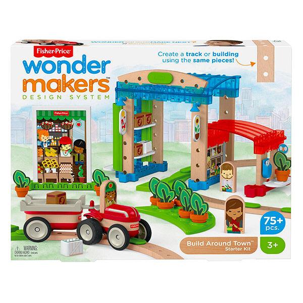 Wonder Makers: A város körül építőszett
