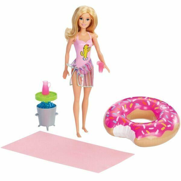 Barbie: Medencés parti babával és kiegészítőkkel