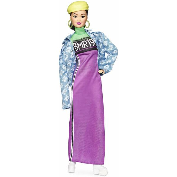 BMR1959 - Barbie retro divatbaba farmerdzsekiben