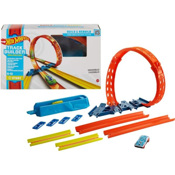 Hot Wheels Track Builder: Hurok kiegészítő szett