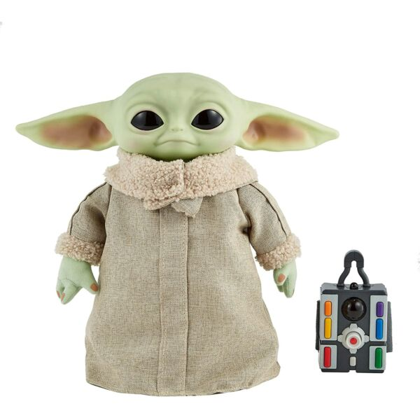 Star Wars: Interaktív Baby Yoda figura - 30 cm