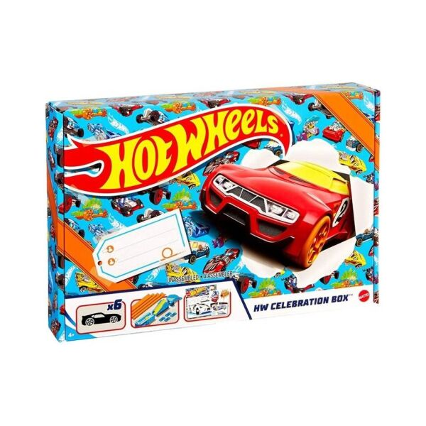 Hot Wheels Celebration Box meglepetés csomag