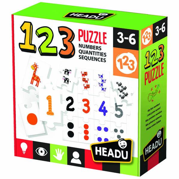 Logikai puzzle illesztőjáték - Számok