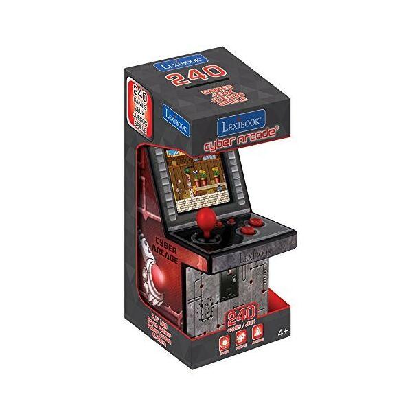 Hordozható játékkonzol 240 játékkal