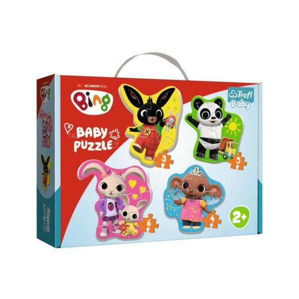 Trefl - Bing és barátai - Első Baby puzzle táskában