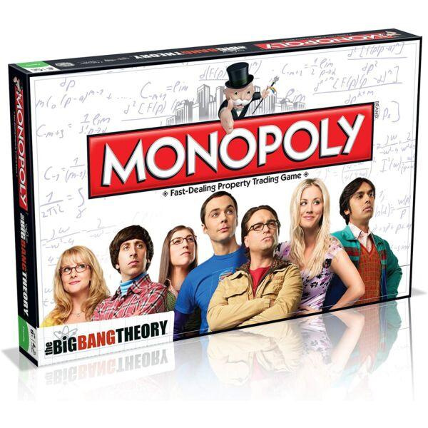 Hasbro Monopoly Agymenők - angol nyelvű társasjáték