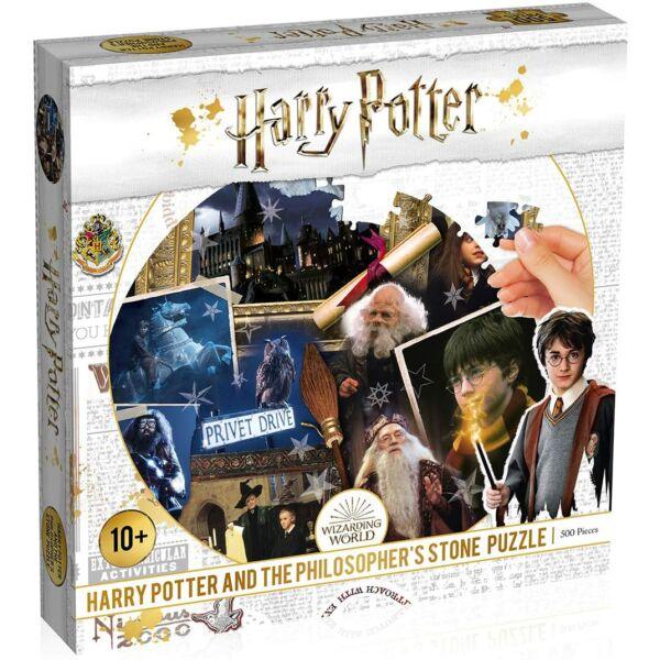 Harry Potter - Bölcsek Köve 500 darabos puzzle