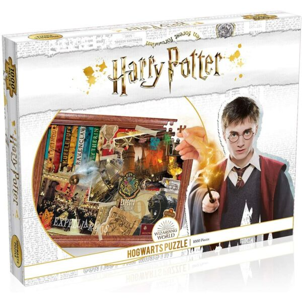 Harry Potter - Roxfort 1000 darabos puzzle