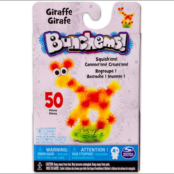 Bunchems: 50 darabos zsiráf formázó készlet