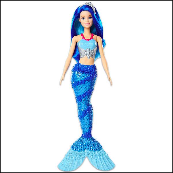 Barbie Dreamtopia: kék hajú Sellő baba