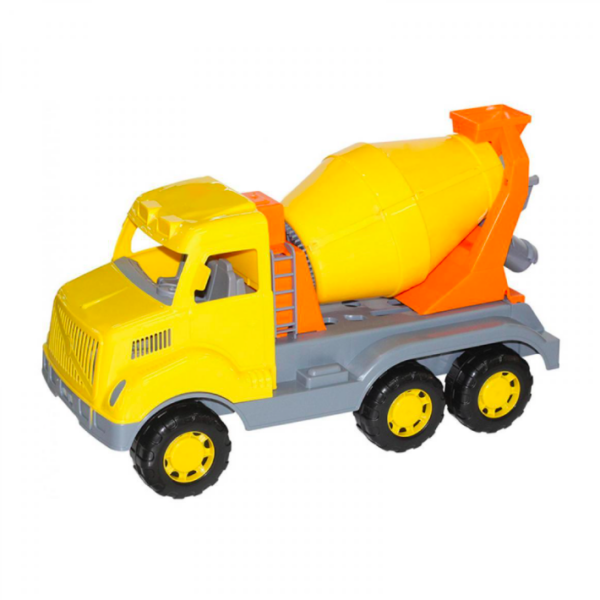 Cargo játék betonkeverő autó, 59 cm