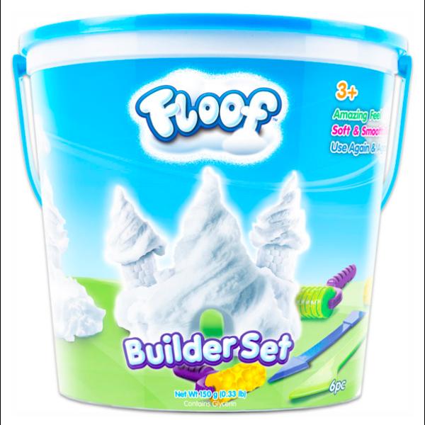 Floof! Hópehely gyurma: formázó készlet - 40g