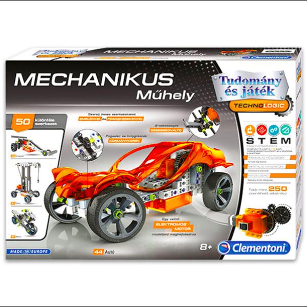 Tudomány és Játék: mechanikus műhely