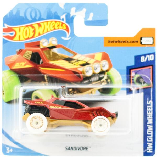 Hot Wheels Sandivore kisautó