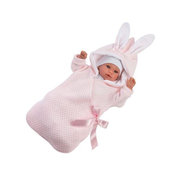 Llorens újszülött síró lány baba 36 cm