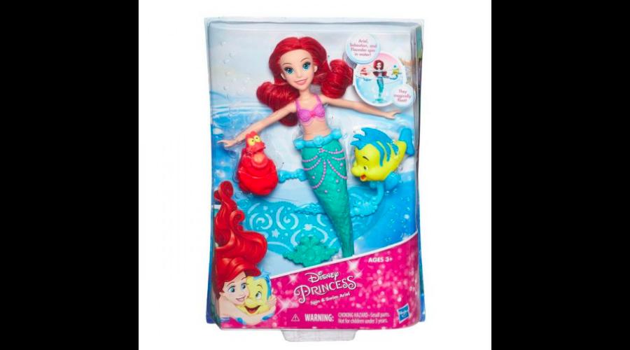 Disney Hercegnők Ariel úszó-forgó baba - Hercegnők c585f05d17